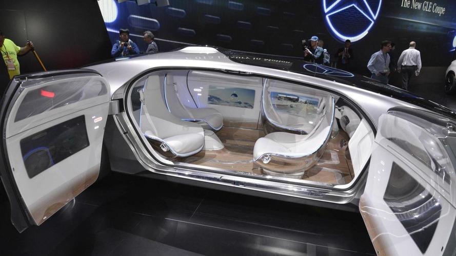 Новый концепт водородного автомобиля Mercedes-Benz